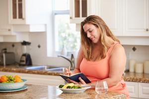 Schreiben eines Ernährungstagebuches